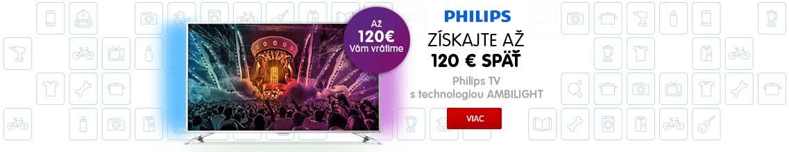 Philips Ambilight späť