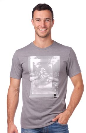 FOX muška majica Back Ss Tee M siva