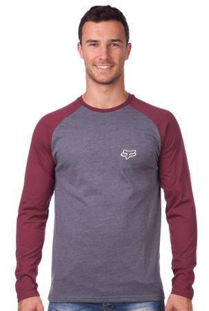 FOX moška majica Counterpart Ls Raglan L siva