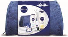 Nivea Q10 Tělové mléko 400 ml + Creme Soft Sprchový gel 250 ml + Antiperspirant 50 ml + Labello