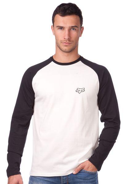 FOX pánské tričko Counterpart Ls Raglan M smetanová