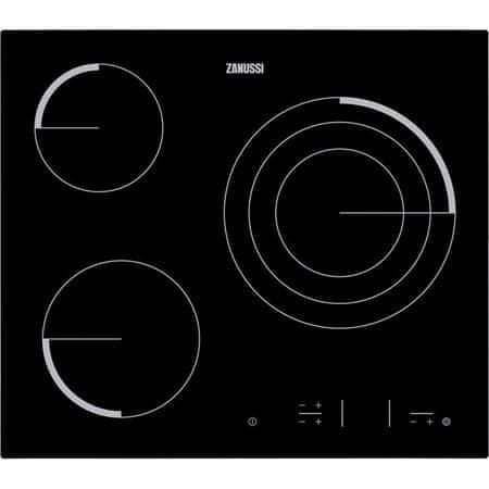 Zanussi steklokeramična kuhalna plošča ZEV6332FBA