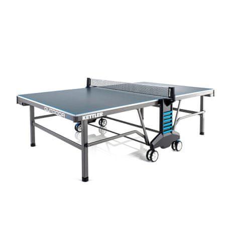 Kettler miza za namizni tenis Outdoor 10 zunanja - sivo/modra