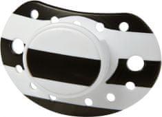 VOKSI Design by Voksi Pacifier, Black Ivory