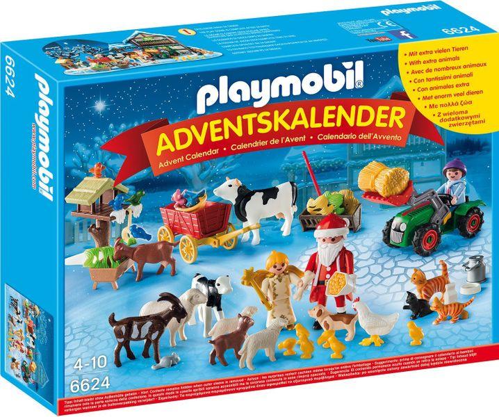 """Playmobil 6624 Adventní kalendář """"Vánoce na farmě"""""""