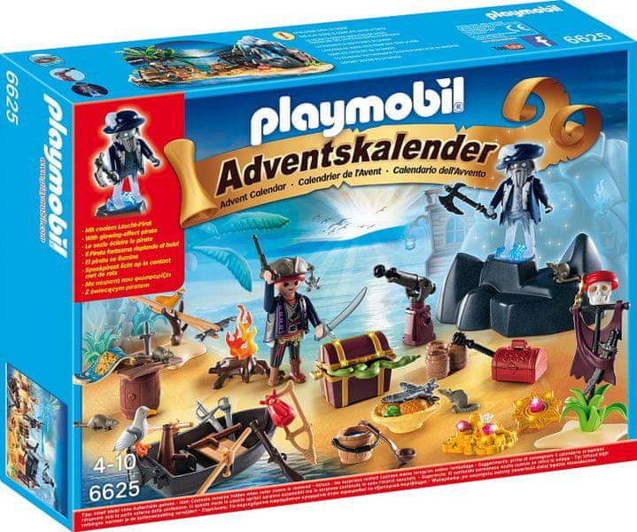 "Playmobil 6625 Adventní kalendář ""Pirátský ostrov pokladů"""