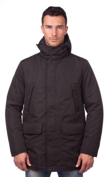 Geox pánský kabát 56 černá