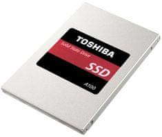 """TOSHIBA A100 120GB SSD / Interní / SATA III / 2,5"""" (THN-S101Z1200E8)"""