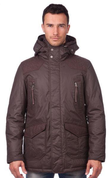 Geox pánský kabát 54 hnědá