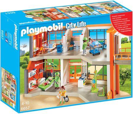 Playmobil 6657 Szpital dziecięcy z wyposażeniem
