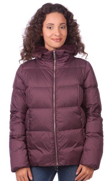 Geox dámská péřová bunda M fialová