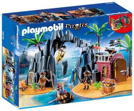 Playmobil pirati na otoku zakladov 6679