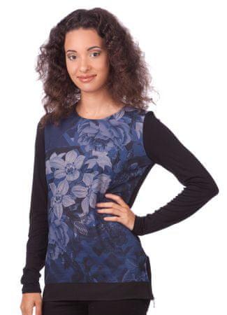 Desigual dámské tričko L modrá