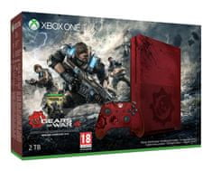 Microsoft Xbox One S (Slim) 2TB Limited Edition + Gears of War 4 Játékkonzol