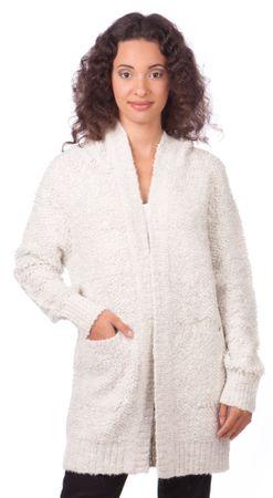 Pepe Jeans ženski pulover Rizzo XS siva