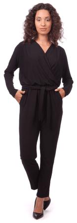 Pepe Jeans ženski kombinezon Industry L črna