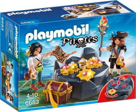 Playmobil 6683 Piracka kryjówka skarbów
