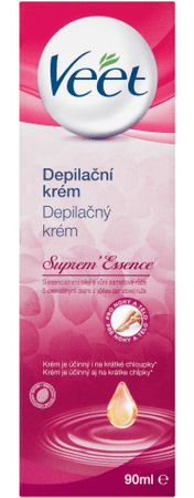 Veet depilacijska krema Suprem' Essence, 90 ml