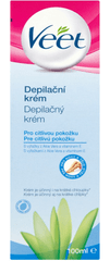 Veet krem do depilacji dla skóry wrażliwej - 100 ml