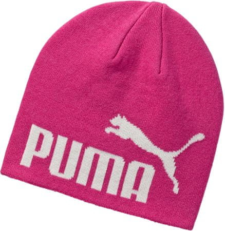 Puma czapka ESS Big Cat Beanie Fuchsia Purple-NO 1 JR