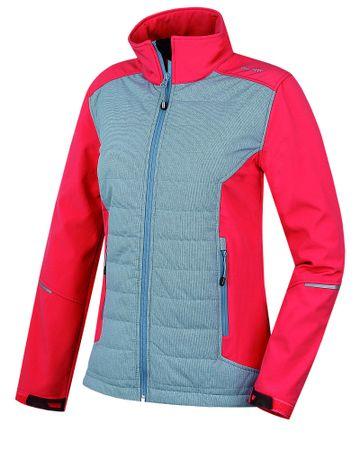 Husky jakna Saleda L, roza/siva, XS