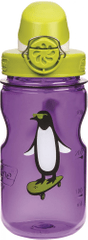 bidon dla dzieci OTF Kids 350 ml Purple Penguin