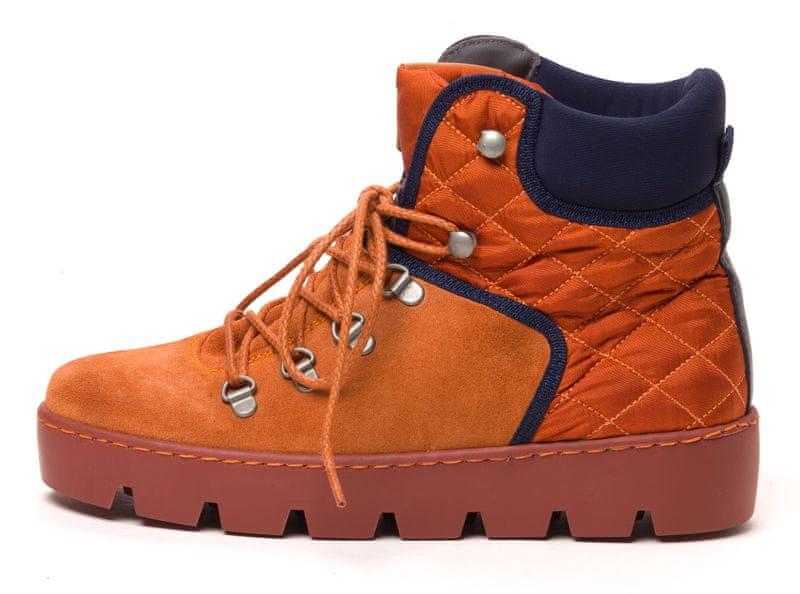 Napapijri dámská kotníčková obuv Jenny 40 oranžová