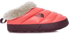 The North Face W Nuptse Tent Mule II Faux Fur Női papucs, Piros