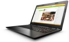 "Lenovo Ideapad 15,6"" HD LED 100 - 80MJ00PDHV Notebook, Fekete"