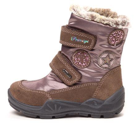 Primigi čizme za snijeg za djevojčice Poke 33 smeđa
