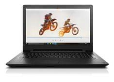 "Lenovo Ideapad 15,6"" HD LED 110 - 80T70070HV Notebook, Fekete"