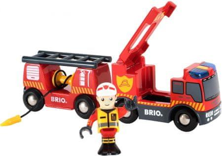 Brio Wóz strażacki 33811
