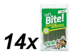 Brit Lets Bite Munchin' Mineral 14x105 g