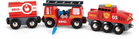Brio Hasičský záchranársky vlak