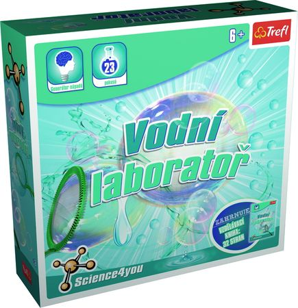 Trefl Science 4 U Kreatív vizes játékkészlet