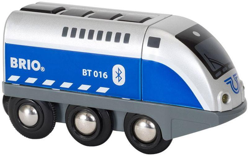 Brio WORLD VLAKY NA BATERIE 33863 Lokomotiva na baterie s aplikací App