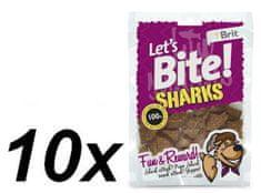 Brit Lets Bite Sharks 10x150 g