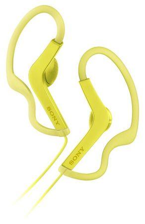 Sony vodoodporne slušalke MDRAS210, rumene