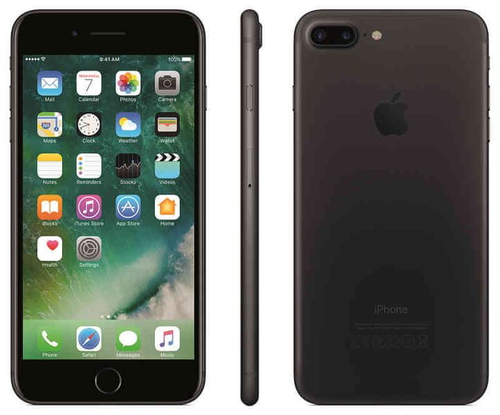 Apple iPhone 7 Plus, 128GB, Černý