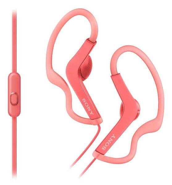 Sony MDR-AS210APP, růžová