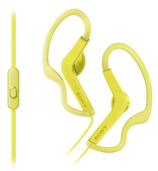 Sony MDR-AS210APY, žlutá