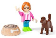 Brio Figurka a pes s miskou