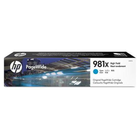 HP kartuša 981X Cyan (L0R09A)