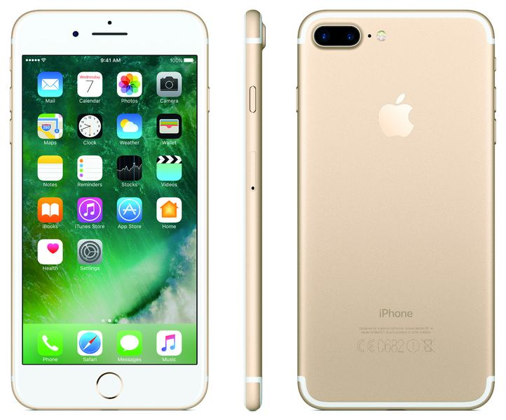 Apple iPhone 7 Plus, 128GB, Zlatý