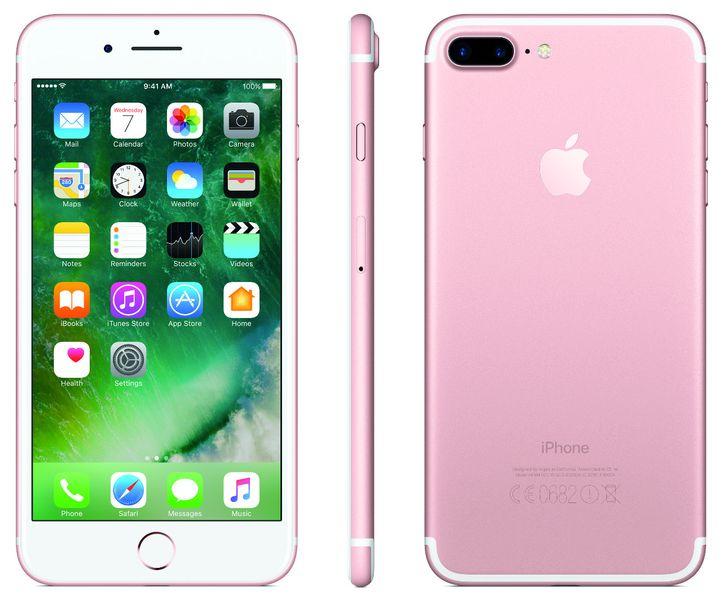 Apple iPhone 7 Plus, 128GB, Růžově zlatý