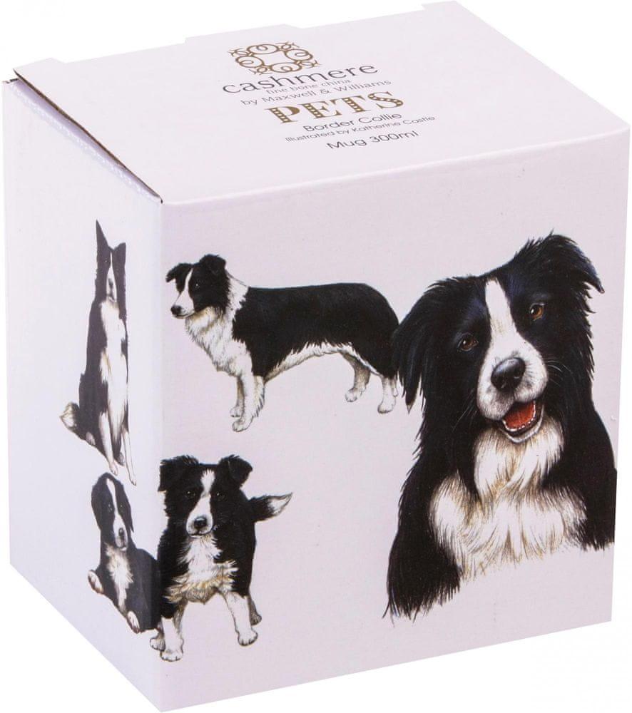 Maxwell & Williams Cashmere Pets Dog Border Collie hrnek 300 ml