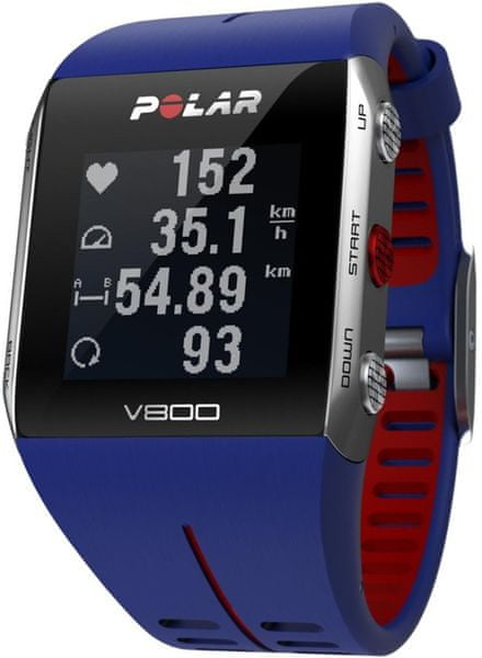 Polar V800 bez HR Blue