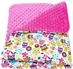 CuddlyZOO Detská deka s výplňou, veľ. M