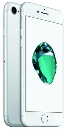 Apple smartfon iPhone 7, 128GB, srebrny