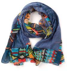 Desigual dámský modrý šátek